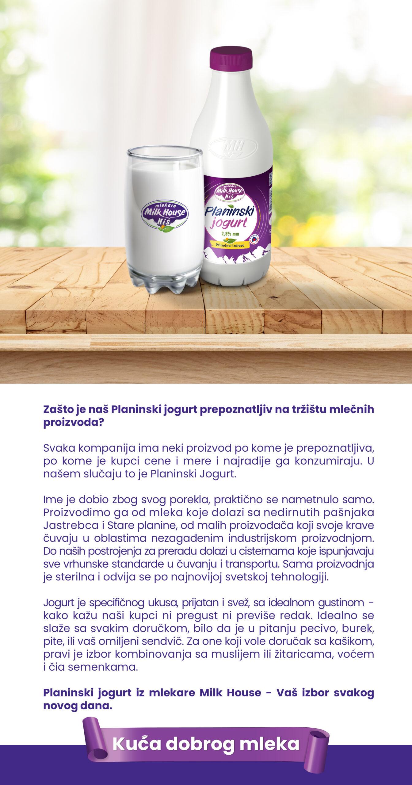 Planinski jogurt 500g