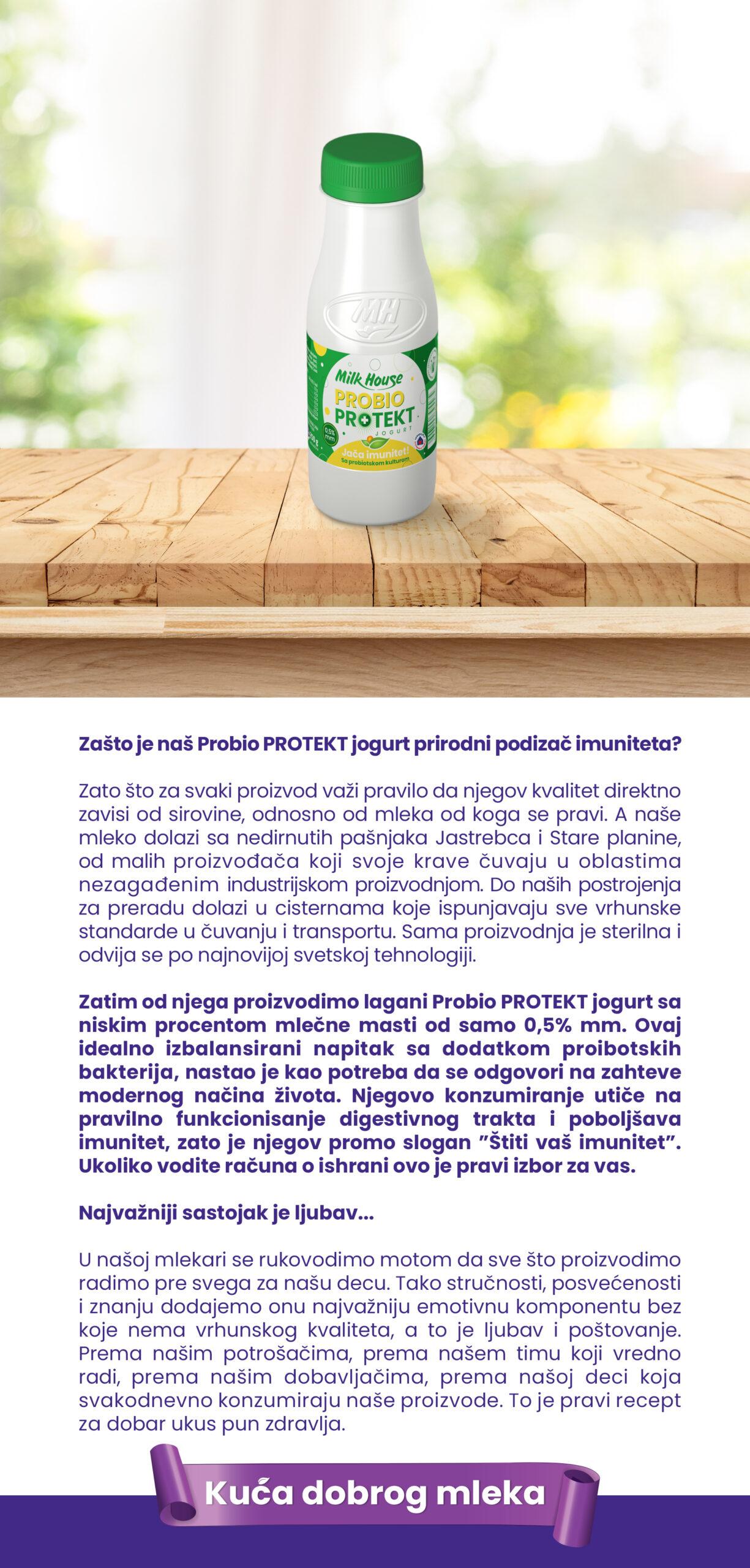 ProBio Protekt jogurt