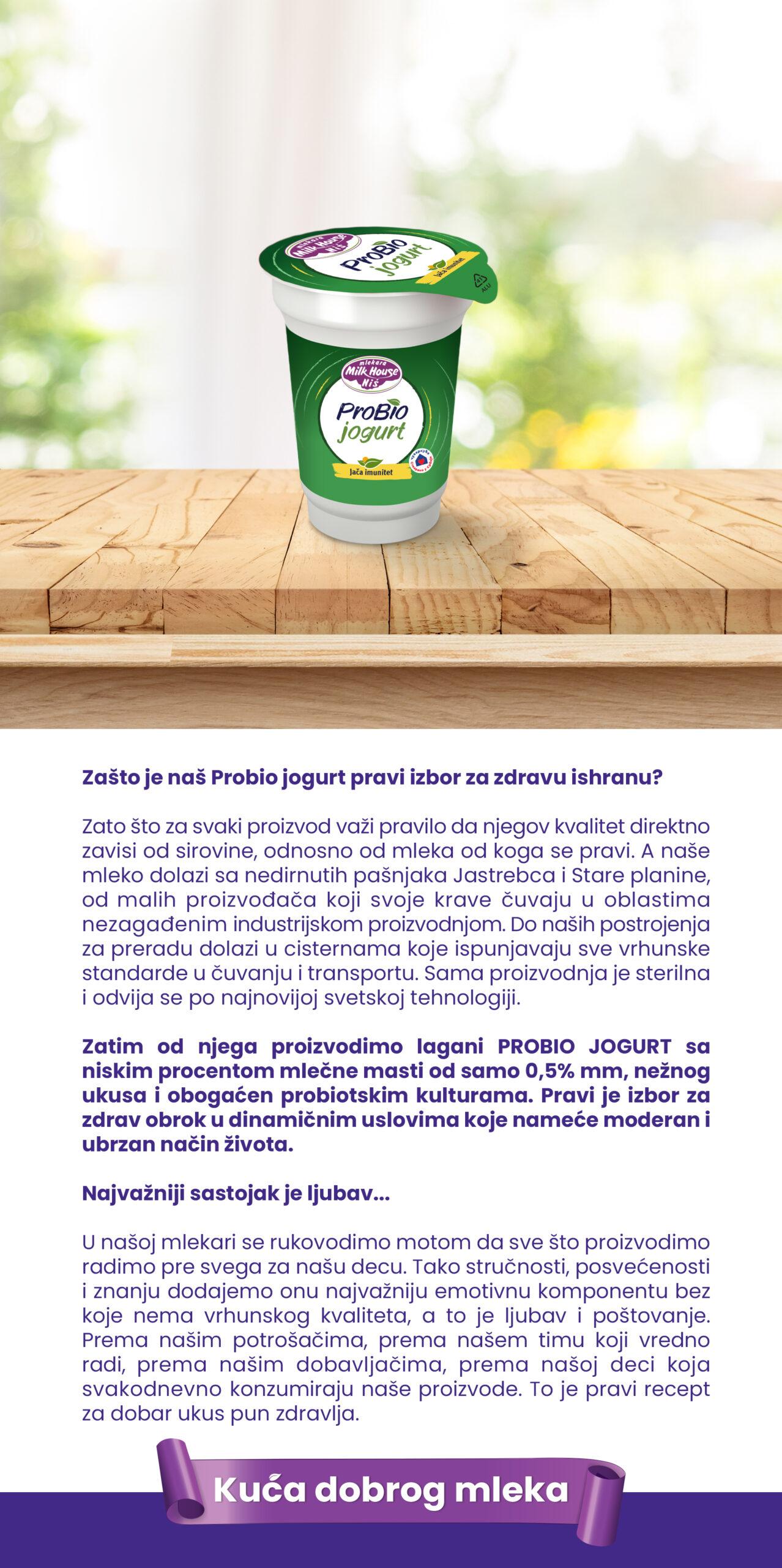 ProBio jogurt 180g
