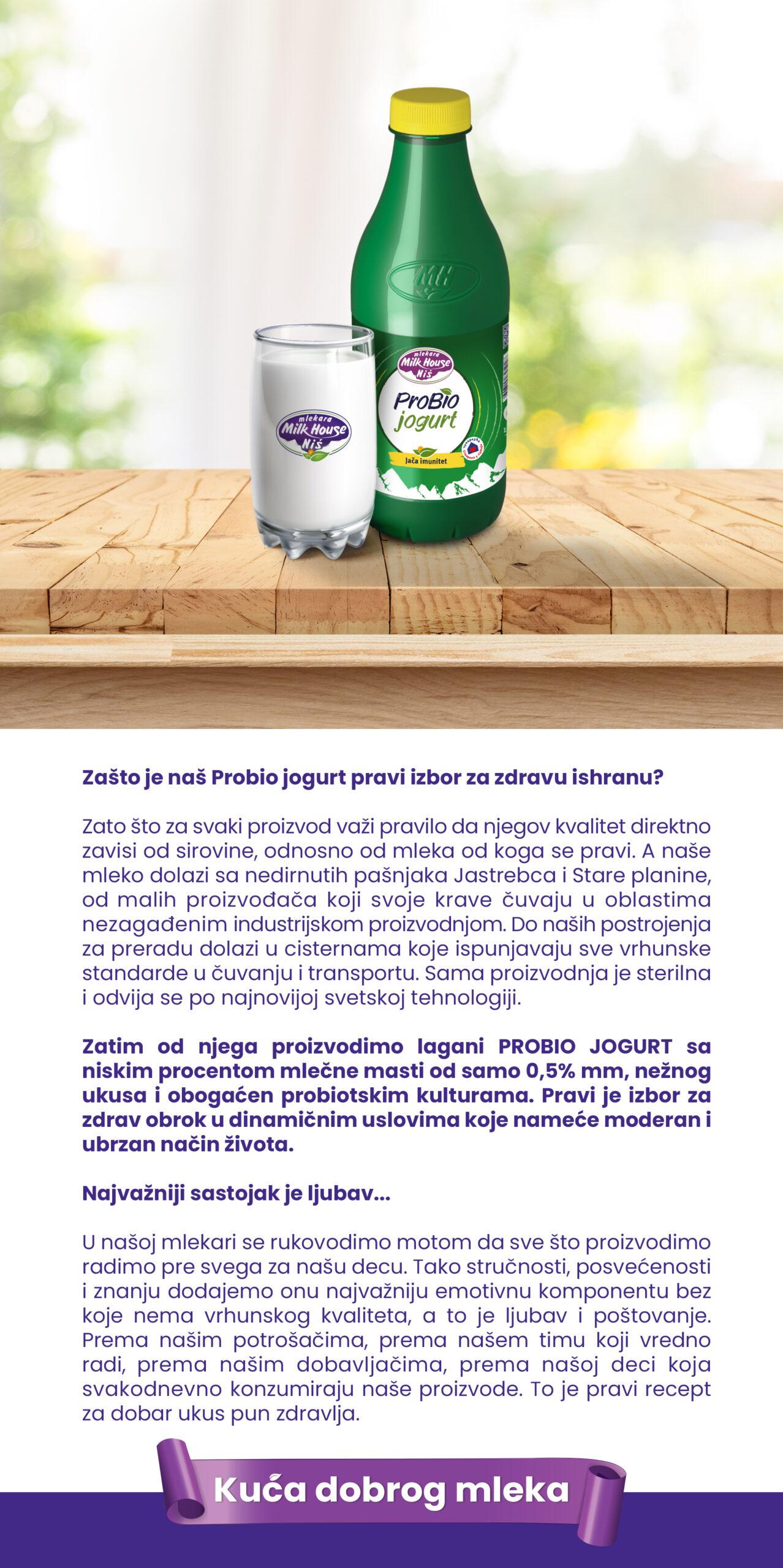 ProBio jogurt 1l