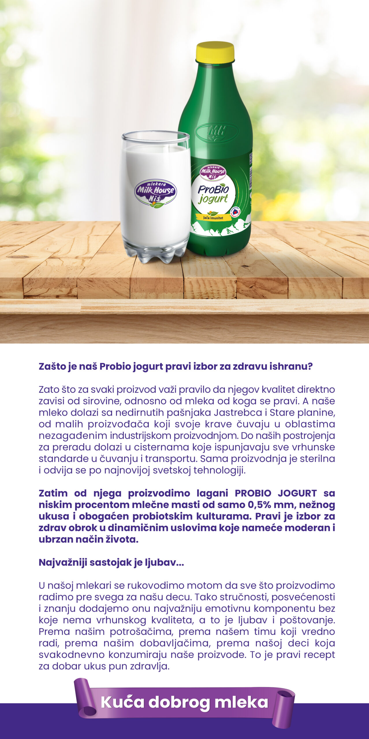 ProBio jogurt 500g